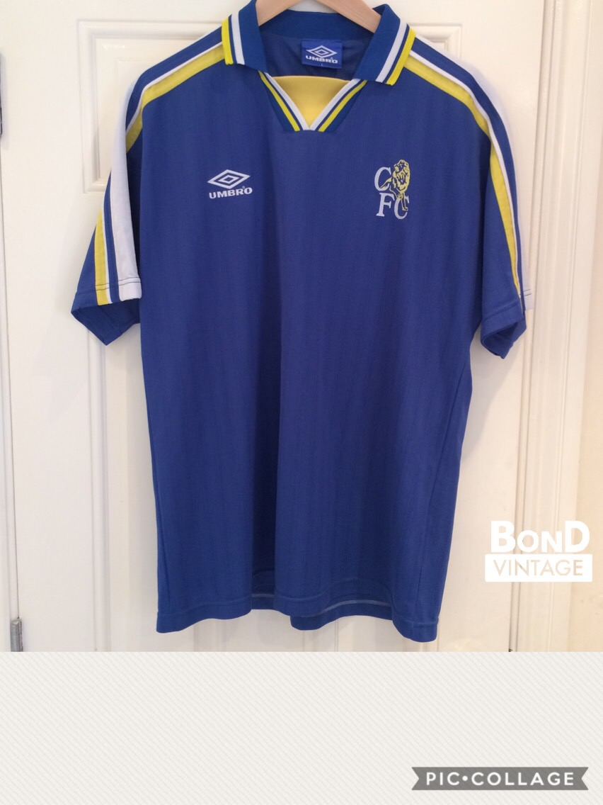big sale 90938 c5e6c Chelsea Umbro Shirt from 90s, unknown year? - General ...